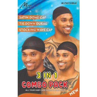 Foto van SPANDEX DOME CAP - TIE DOWN DURAG - STOCKING WAVE CAP