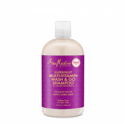 SHEA MOISTURE SUPERFRUIT COMPLEX 10-IN-1 RENEWAL SYSTEM SHAMPOO