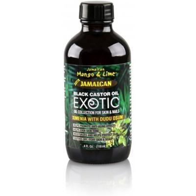JAMAICAN MANGO AND LIME Castor Oil Exotic ximenia with dudu osum