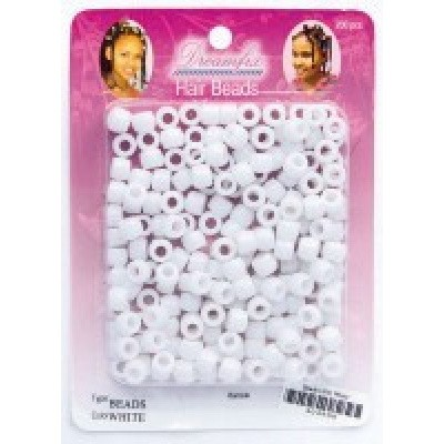 Foto van DREAMFIX Hair Beads White