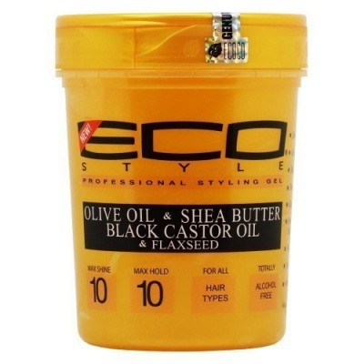 ECO STYLER Gold Olive Oil - Sheabutter - Black Castor Oil - Flaxeed 32 OZ