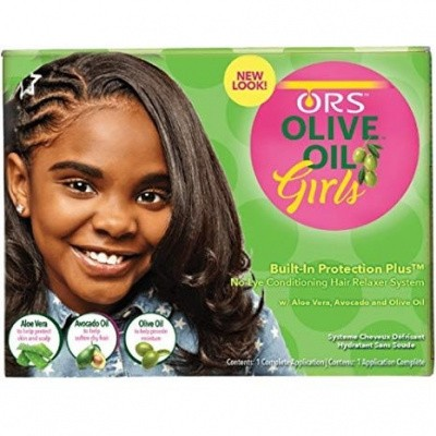 Foto van ORGANIC ROOT STIMULATOR Olive Oil Girls Creme Relaxer System
