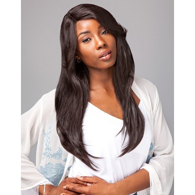 Foto van SENSATIONNEL BARE AND NATURAL Lace Wig Natural Straight