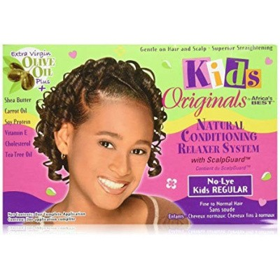 Foto van AFRICA'S BEST KIDS ORGANICS No-Lye Relaxer System Kit Regular