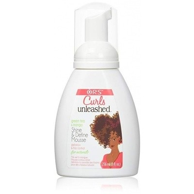 ORGANIC ROOT STIMULATOR CURLS UNLEASHED Shine & Define Mousse