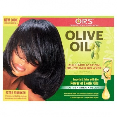Foto van ORGANIC ROOT STIMULATOR Olive Oil Relaxer Extra Strength ( 2 pakken )
