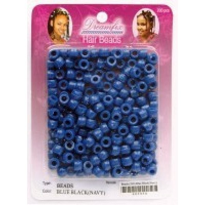 Foto van DREAMFIX Hair Beads Dark Blue