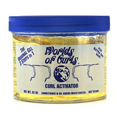 Foto van WORLDS OF CURLS EXTRA DRY HAIR