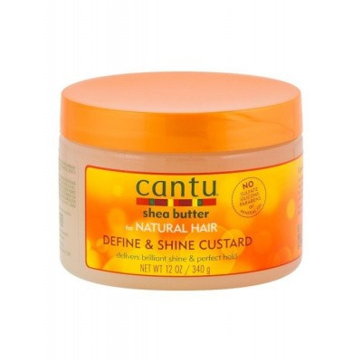 Foto van CANTU Shea Butter FOR NATURAL HAIR Define & Shine Custard