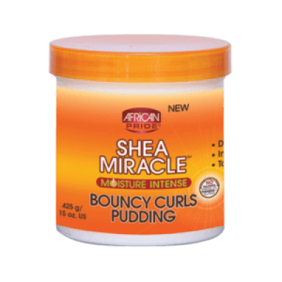 Foto van AFRICAN PRIDE SHEA MIRACLE Bouncy Curls Pudding