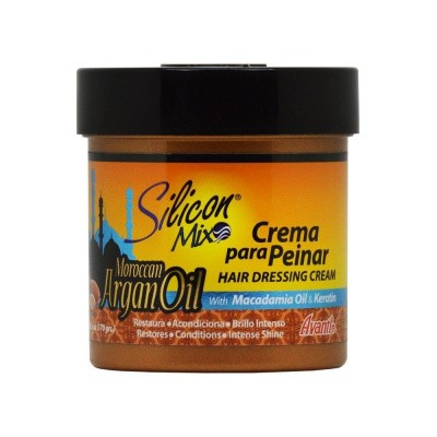 Foto van SILICON MIX Maroccan Argan Oil Hair Dressing Cream