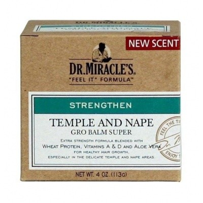 Foto van DR MIRACLES temple and nape growth balm