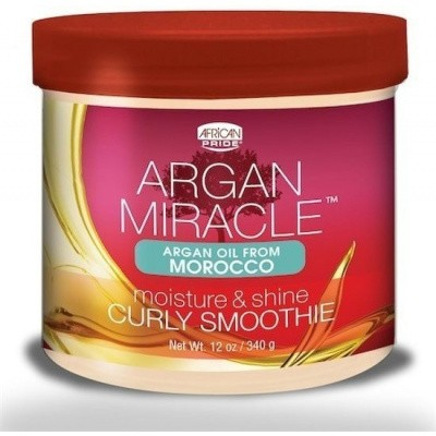 AFRICAN PRIDE Argan Miracle Moisture & Shine Curly Smoothie
