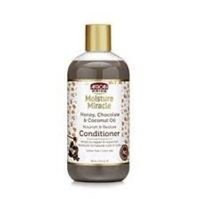 Foto van AFRICAN PRIDE MOISTURE MIRACLE Honey Chocolate & Coconut Oil Conditioner