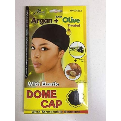 Foto van ARGAN + OLIVE OIL DOME CAP With Elastic