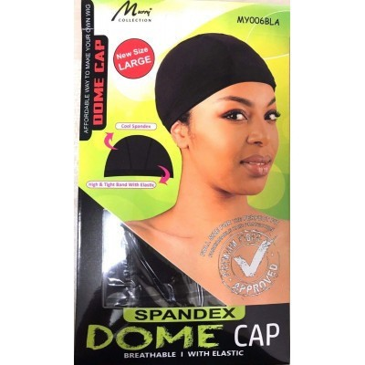 SPANDEX DOME CAP Large
