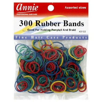 Foto van RUBBERBANDS MIX COLOR 250 st