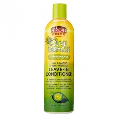 Foto van AFRICAN PRIDE OLIVE MIRACLE Leave In Conditioner