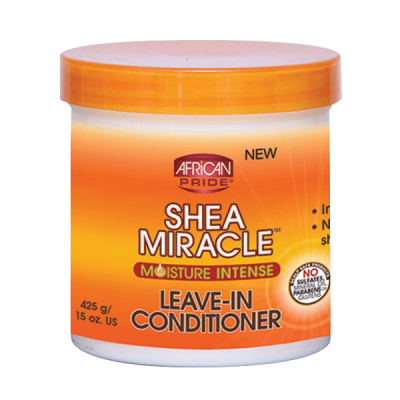 Foto van AFRICAN PRIDE SHEA MIRACLE For Natural Hair Leave In Conditioner