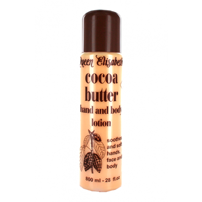 Foto van QUEEN ELISABETH Cocoa Butter Hand and Body Lotion 800 ml