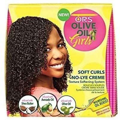 ORGANIC ROOT STIMULATOR Olive Oil Girls Creme Texture Softening System