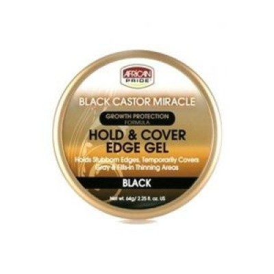 Foto van AFRICAN PRIDE Black Castor Miracle Hold & Cover Edges