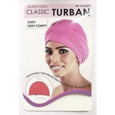 Foto van TURBAN HAT MIX COLORS