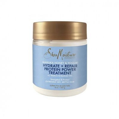 Foto van SHEA MOISTURE MANUKA HONEY & YOGURT Hydrate + Repair Protein-Strong Treatment