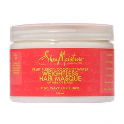 Foto van SHEA MOISTURE FRUIT FUSHION Weightless Hair Masque