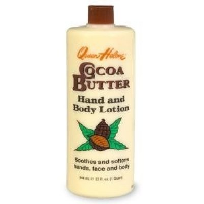 Foto van QUEEN HELENA Cocoa Butter Hand and Body Lotion 454 g