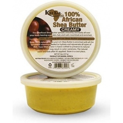 Foto van KUZA 100% African Shea Butter Creamy 227 gr
