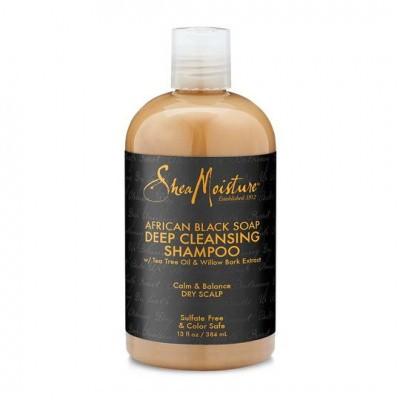 Foto van SHEA MOISTURE AFRICAN BLACK SOAP Deep Cleansing Shampoo