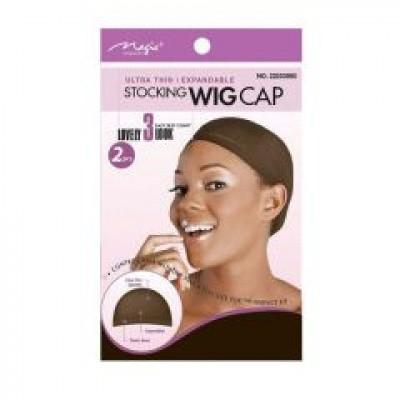 STOCKING WIG CAP BRUIN 2 pc
