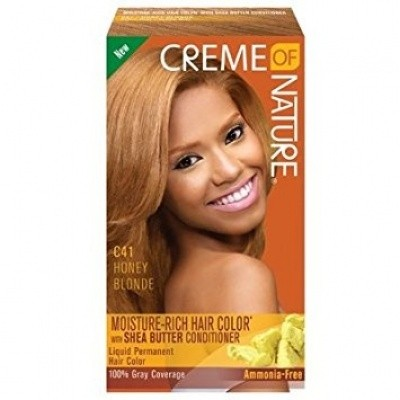 Foto van CREME OF NATURE honey blonde C41