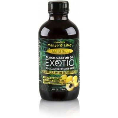 JAMAICAN MANGO AND LIME Castor Oil Marula with Seaberry