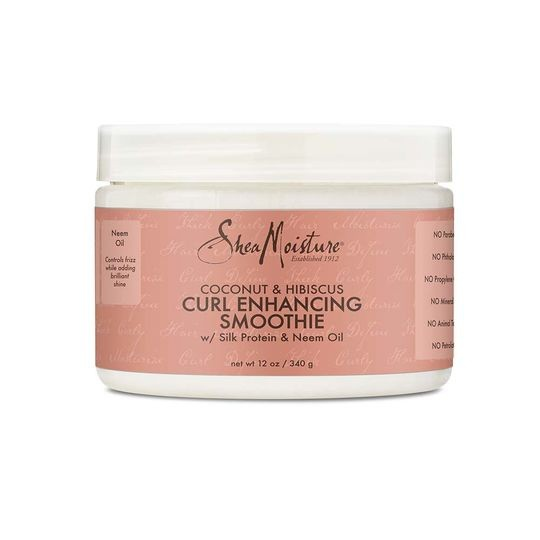 SHEA MOISTURE COCONUT & HIBISCUS Curl Enhancing Smoothie ( Twin Pack )