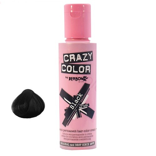 CRAZY COLOR Black 30
