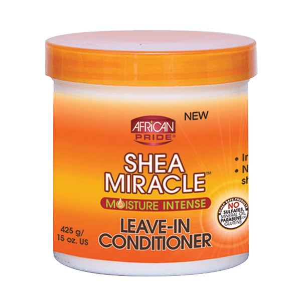 AFRICAN PRIDE Shea Miracle For Natural Hair Leave In Conditioner