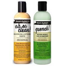 AUNT JACKIES Shampoo + Leave in Conditioner