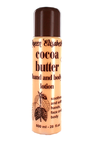 QUEEN ELISABETH Cocoa Butter Hand and Body Lotion 800 ml