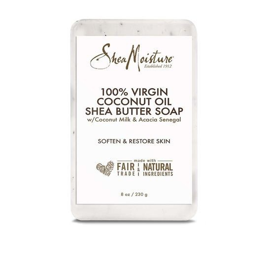 SHEA MOISTURE 100% VIRGIN COCONUT OIL Daily Hydration Bar Soap