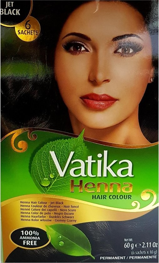 DABUR VATIKA Henna Hair Colour Jet Black