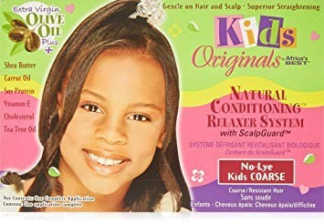 AFRICA'S BEST KIDS ORGANICS No-Lye Relaxer System Kit Coarse
