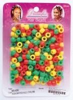 DREAMFIX Hair Beads Rasta Color