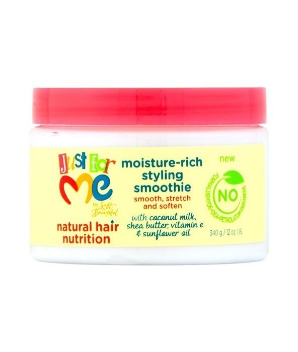 JUST FOR ME Natural Hair Nutrition Moisture Rich Styling Smoothie