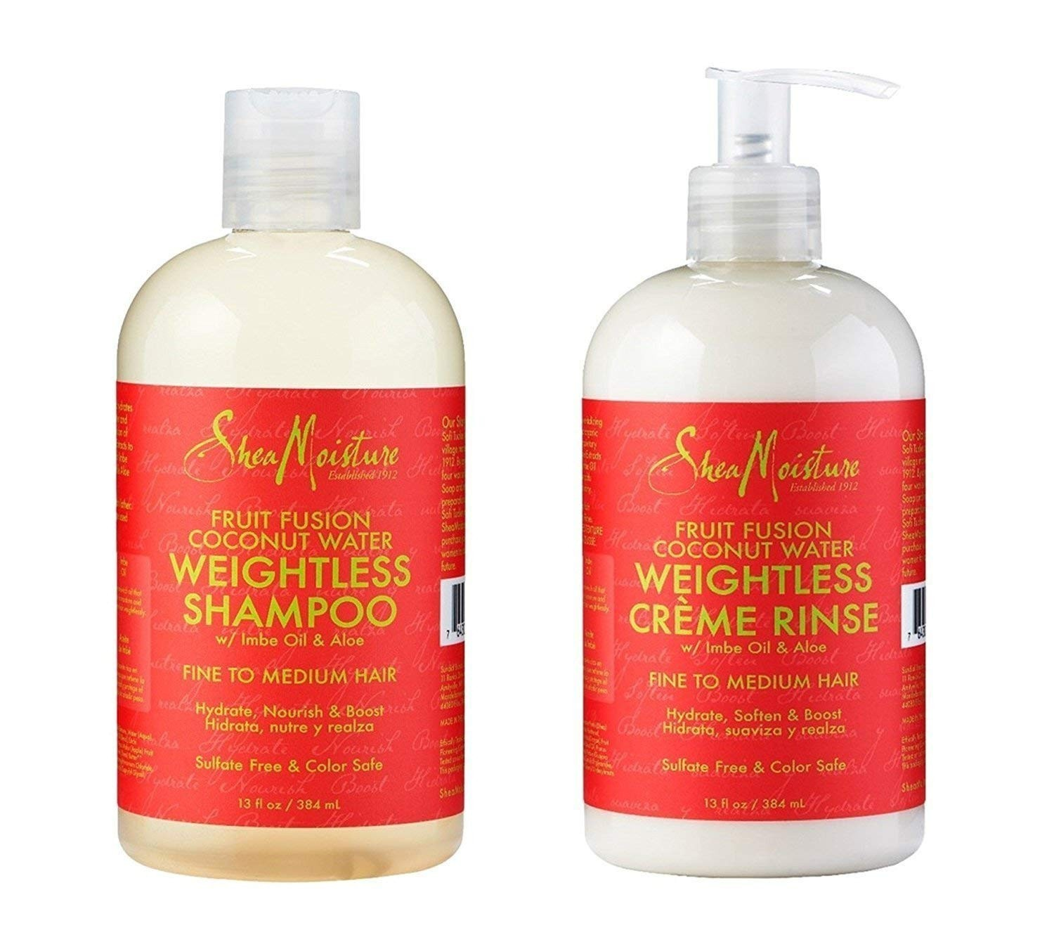 SHEA MOISTURE SET FRUIT FUSION