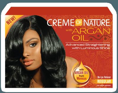 CREME OF NATURE Argan Oil Relaxer