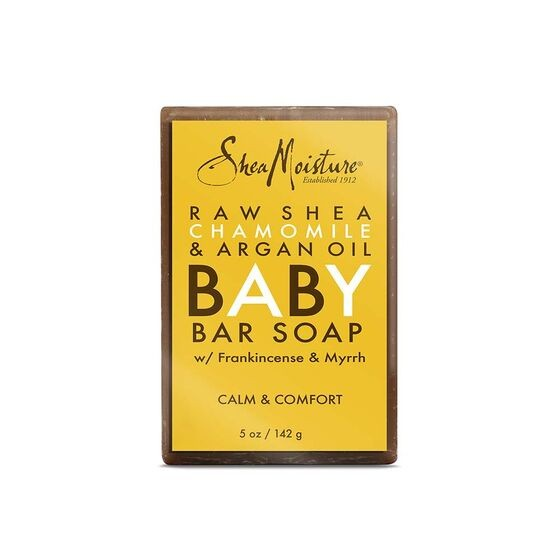 SHEA MOISTURE RAW SHEA CHAMOMILE & ARGAN OIL Baby Bar Soap