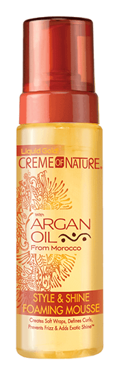 CREME OF NATURE Style & Shine Foaming Mousse