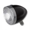 Afbeelding van koplamp retro zwart 3-led